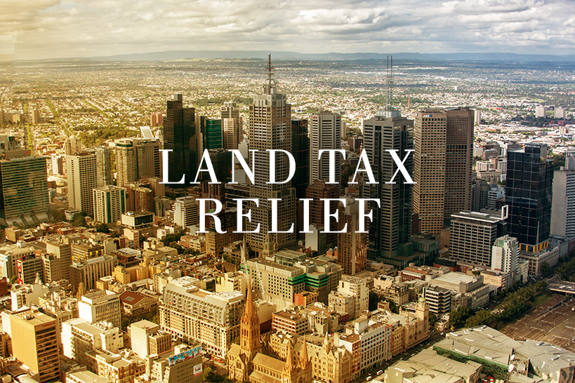 Land Tax Relief Announcement