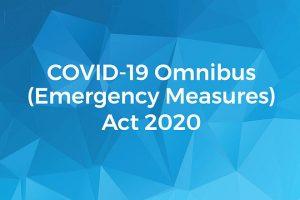 Victorian Government's COVID-19 Omnibus Regulations 2020
