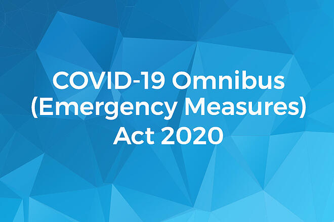 Victorian Government's COVID-19 Omnibus Regulations 2020
