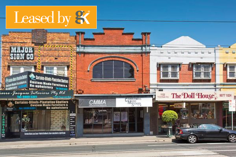 1124 Toorak Road, Camberwell Leased